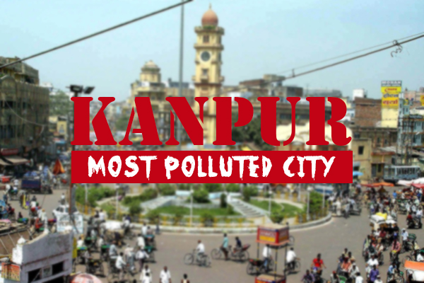 kanpur most polluted who report