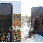 The 5ft iPhone Tombstone