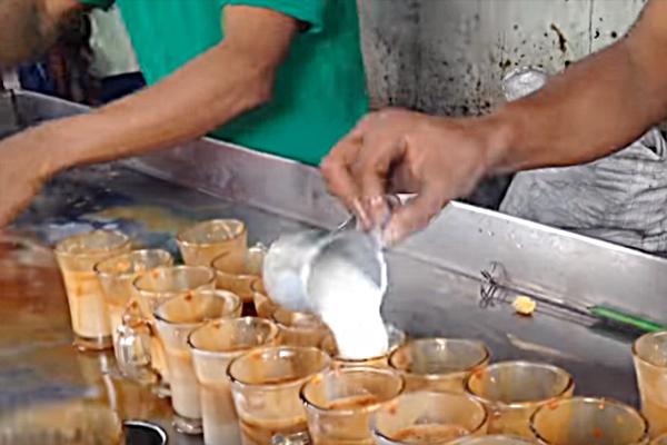 Milk tea stall kolkata