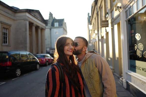Sonam Kapoor Couple photos