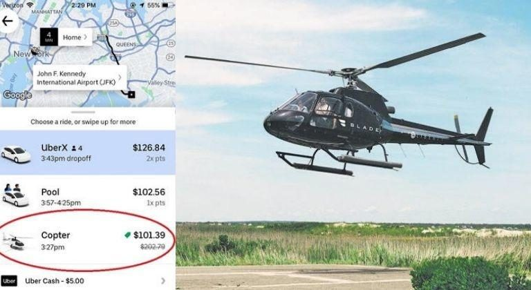 US Woman Wanted To Book A Cab, Finds Helicopter Ride Cheaper Than The Cab Ride