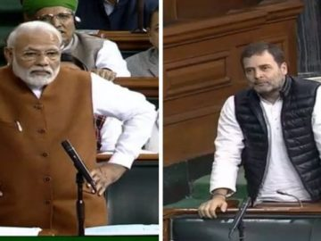 PM Modi and Rahul