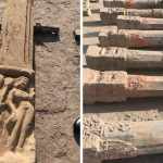 findings at ayodhya temple site