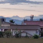 Kangchenjunga peak visible from west bengal