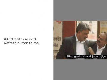 IRCTC Meme