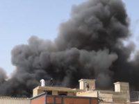 Flight crash in Karachi