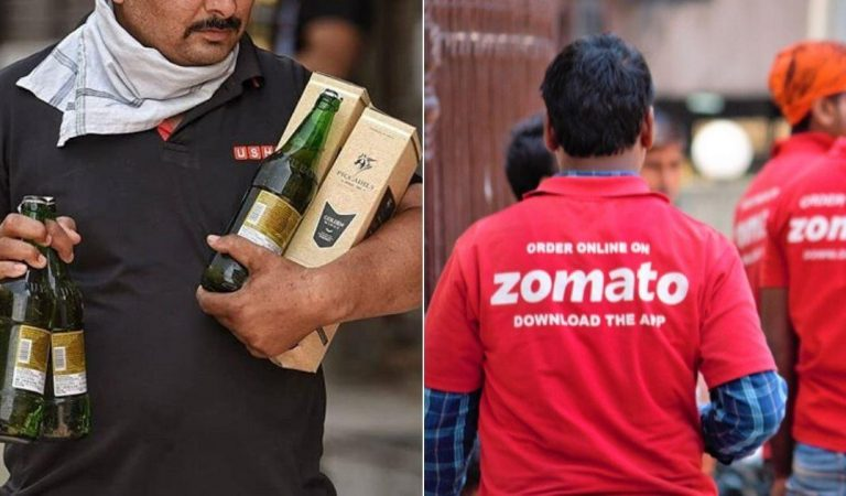 Zomato And Swiggy Are Delivering 'Liquor' At Door Step In This State