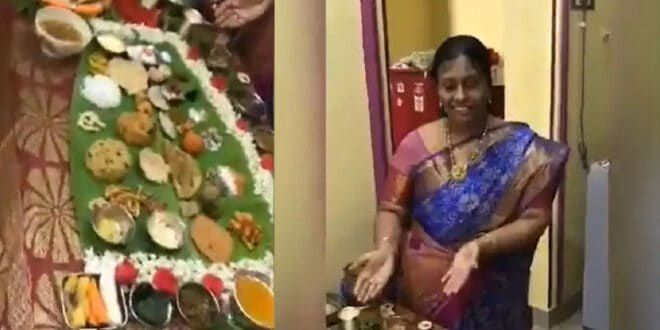 Andhra Lady Prepares 67 Dishes For Her Son-In-Law And We Ask Esi Sasu-mom Kaha Milegi?