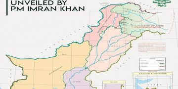 pakistan new map