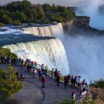 Niagara fall indian flag hoisting