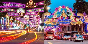 little india district singapore diwali