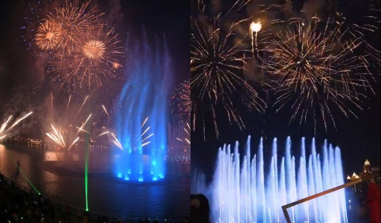 UAE Dethrones Korea To Set A Guinness World Record For Largest Fountain