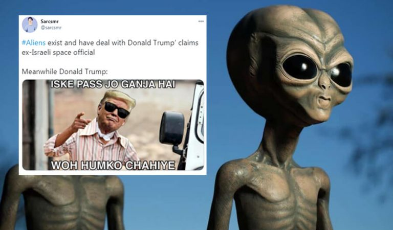 Former Israeli Space Security Chief Says Aliens Exist And Donald Trump Knows About It
