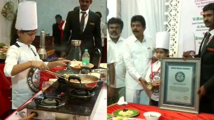 This Indian Girl Cooked 46 Dishes In 58 Mins To Bag World Record Title
