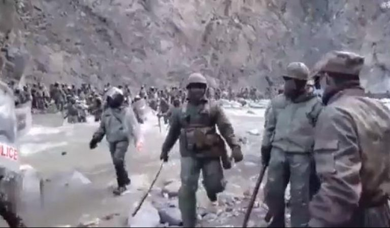 Watch: Day after Accepting Casualties, China Releases Video Of Galwan Clash