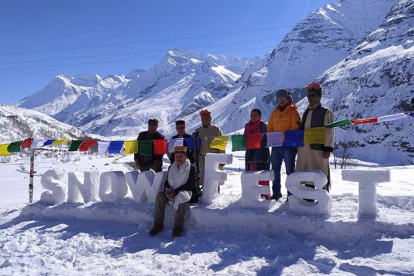 In Pictures: Mesmerising Two-Month Long Snow Festival Begins In Himachal Pradesh